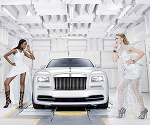 Rolls-Royce unveils designer Wraith